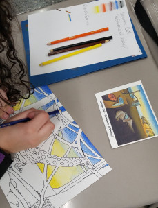 Limited Color Palette and Referencing Classic Works in Art History